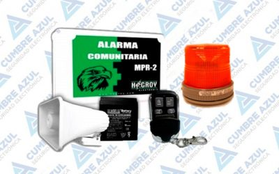 ALARMA VECINAL KIT-MPR2-BAT7